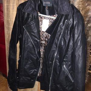 NWT*Blu Pepper Leather Jacket